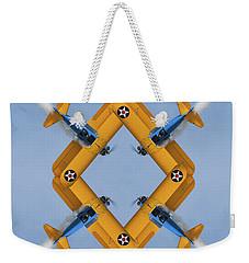 The Mohrbeous Strip Weekender Tote Bag