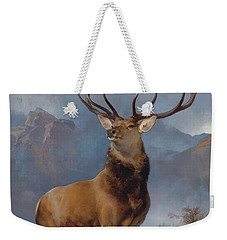 The Monarch Of The Glen Weekender Tote Bag