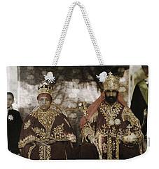 The Monarchs Haile Selassie The First Weekender Tote Bag