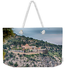 Weekender Tote Bag featuring the photograph The Monastery Of Archangel Michael, Thasos, Greece by Jivko Nakev