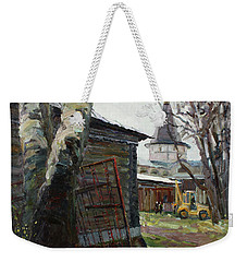 The Monastery Yard Weekender Tote Bag