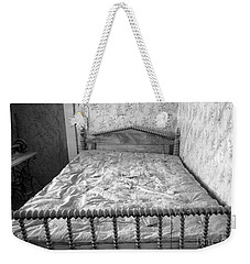 Weekender Tote Bag featuring the photograph The Money Bed by Craig J Satterlee