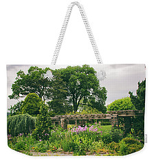 The Monocot Garden Weekender Tote Bag by Jessica Jenney
