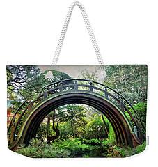 The Moon Bridge Weekender Tote Bag