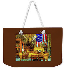 Weekender Tote Bag featuring the photograph The Moose by Thom Zehrfeld