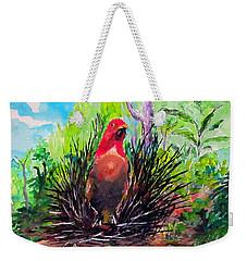 The Most Romantic Birds Weekender Tote Bag