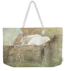 The Mountain Goat Weekender Tote Bag
