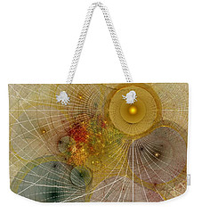 The Mourning Of Persephone - Fractal Art Weekender Tote Bag