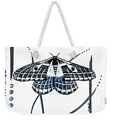 The Multifarious Paths Of The Emperor Moth Weekender Tote Bag