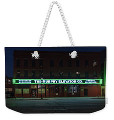 Weekender Tote Bag featuring the photograph The Murphy Elevator Company by Randy Scherkenbach