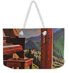 The Music Room Weekender Tote Bag by Art West