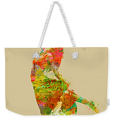 The Music Rushing Through Me Weekender Tote Bag