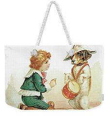 The Musical Pooch Weekender Tote Bag