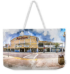 The Myrtle Beach Pavilion - Watercolor Weekender Tote Bag