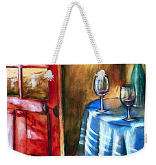 The Mystery Room Weekender Tote Bag by Winsome Gunning