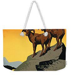 The National Parks Poster Weekender Tote Bag