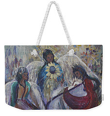 The Nativity Of The Angels Weekender Tote Bag