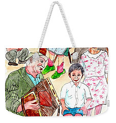 The Neighborhood Music Man Weekender Tote Bag