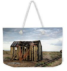 The Net Shack, Dungeness Beach Weekender Tote Bag
