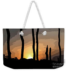 Weekender Tote Bag featuring the photograph The New Dawn by Tom Cameron