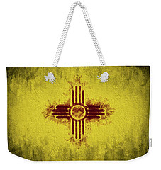 The New Mexico Flag Weekender Tote Bag by JC Findley