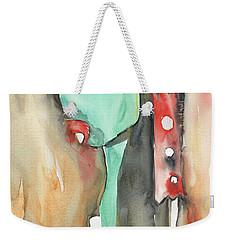 The New Neighbors Weekender Tote Bag by Sandra Church