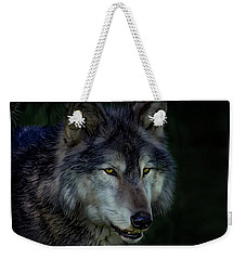 The Night Belongs To The Wolf Weekender Tote Bag