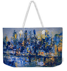 The Night City Weekender Tote Bag by Nancy Kane Chapman