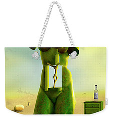 The Nightstand 2 Weekender Tote Bag by Mike McGlothlen