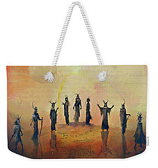The Nine Nazgul Weekender Tote Bag by Joe Gilronan