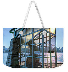 The Nine O'clock Gun Weekender Tote Bag