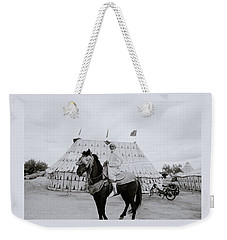 The Noble Man Weekender Tote Bag by Shaun Higson