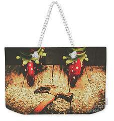 The North Pole Toy Factory Weekender Tote Bag