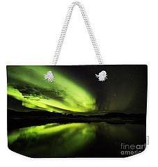 The Northern Lights Thingvellir Weekender Tote Bag