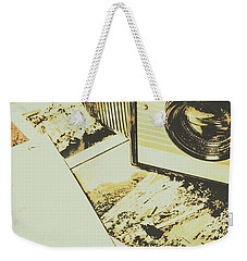 The Nostalgic Archive Weekender Tote Bag