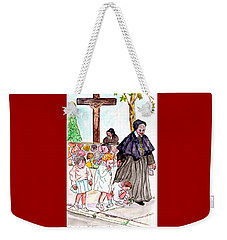 The Nuns Of St Marys Weekender Tote Bag by Philip Bracco