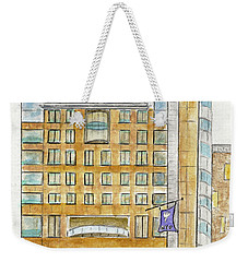 The Nyu Kimmel Student Center Weekender Tote Bag by AFineLyne