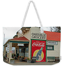 The Oakville Grocery Weekender Tote Bag by Suzanne Gaff