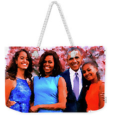 The Obama Family Weekender Tote Bag