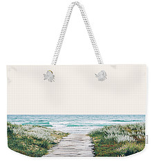 The Ocean Is Calling And I Must Go  Weekender Tote Bag by Uma Gokhale