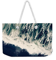 The Ocean Roars Weekender Tote Bag
