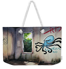 The Octopus's Garden Weekender Tote Bag