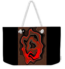 Original Contemporary Painting The Odyssey Weekender Tote Bag