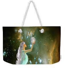 The Offering 1 Weekender Tote Bag by Julie Grace