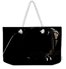 Weekender Tote Bag featuring the photograph The Office Reflection by Paul Job