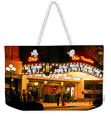 The Ohio Theater At Night Weekender Tote Bag