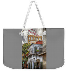 Weekender Tote Bag featuring the photograph The Old Absinthe House by Susan Rissi Tregoning