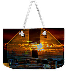 The Old Barn Weekender Tote Bag by Stuart Turnbull