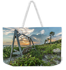 The Old Beach Swing -  Sullivan's Island, Sc Weekender Tote Bag