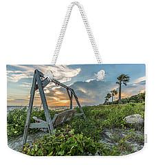 The Old Beach Swing -  Sullivan's Island, Sc Weekender Tote Bag